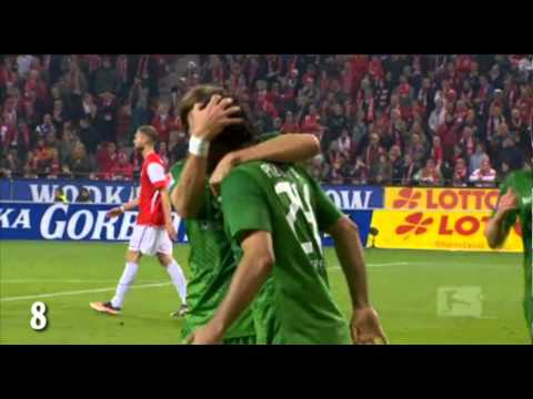 Claudio Pizarro - All goals of the 1. half of the season 11/12