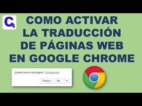Como traducir Paginas Web en Google Chrome