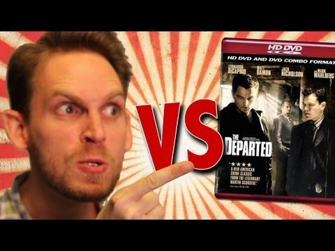 The Departed HD DVD Unboxing