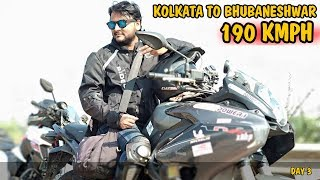 KOLKATA TO BHUBANESHWAR | 190 KMPH |