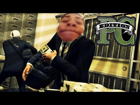NAPAD NA BANK! - GTA V PC EDITION!
