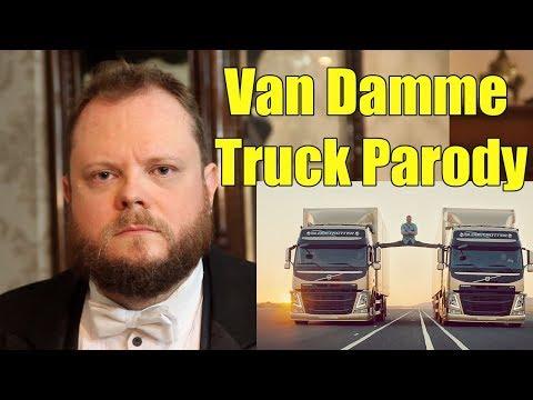 Van Damme Volvo Trucks Parody - 10 Year Youtube Channel Anniversary Vídeos de zueiras e brincadeiras: zuera, video clips, brincadeiras, pegadinhas, lançamentos, vídeos, sustos