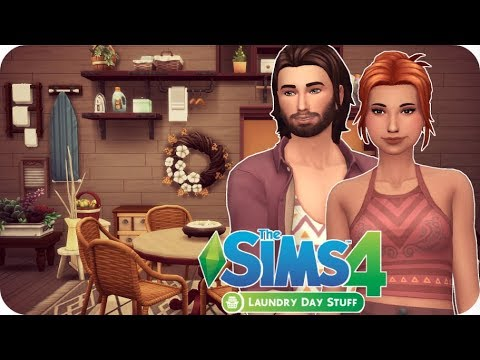 FIRST IMPRESSIONS & REVIEW - Sims 4 Laundry Day Stuff Pack Items