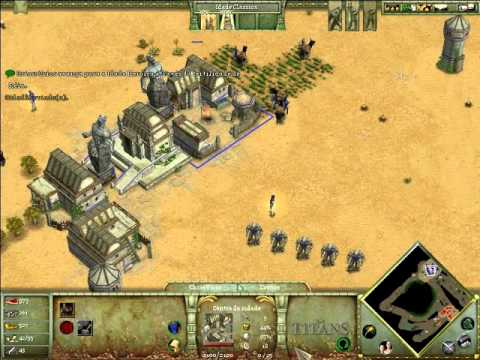 Age of Mythology : The Titans - Demonstração (Parte 2/2)