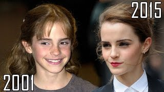 Emma Watson (2001-2015) all movies list from 2001! How much has changed? Before and Now!