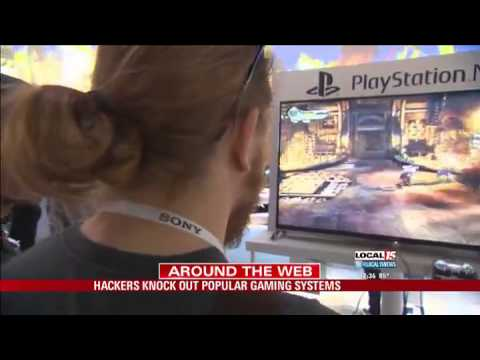 Hackers Knock Out Popular Gaming Systems
