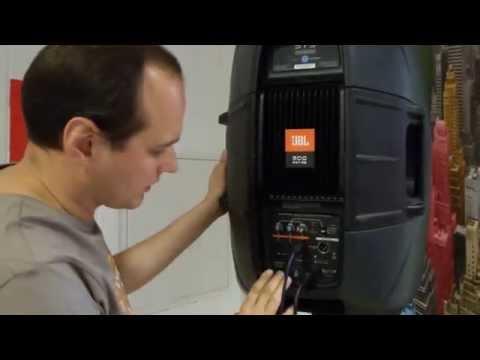 Как правильно подключить JBL EON 500 (515)