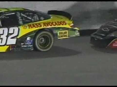 Kyle Busch~Steve Wallace Incident Richmond Video