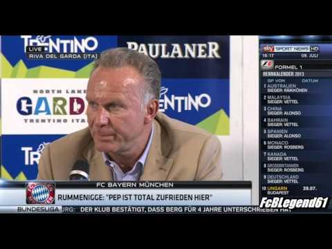 Pressekonferenz mit Karl-Heinz Rummenigge / 09.07.2013