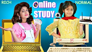 ONLINE STUDY - Rich vs Normal | MyMissAnand