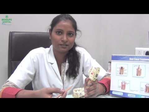 Dr Pooja Panjiyar explains root canal treatment in teeth, Bensups Hospital, India