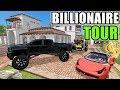 FARMING SIMULATOR 2017 | LET ME SHOW YOU MY MILLION DOLLAR HOUSE & CARS | CRIBS FS17 EDITION