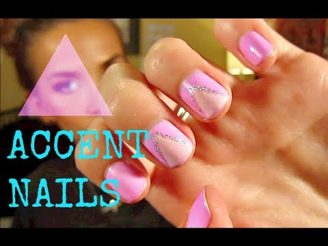 Triangle Accent Nail Tutorial FRIDAY EVE!