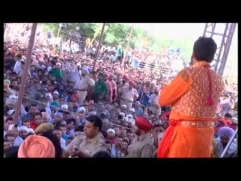 Gurdas Maan At Dera Baba Murad Shah Ji Nakodar Urs Full 2013 video