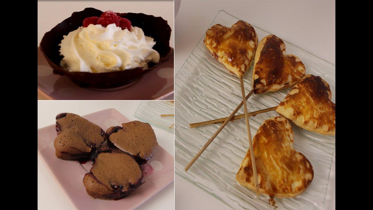 valentin 3 desserts faciles et rapides