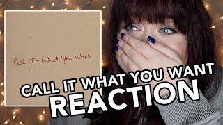 Download Lagu CALL IT WHAT YOU WANT - TAYLOR SWIFT REACTION Gratis STAFABAND