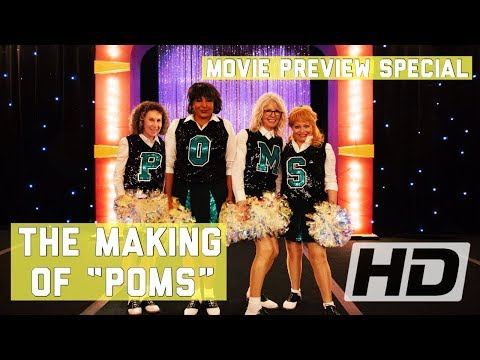Poms (2019) The Making Of Diane Keaton's Movie | Behind The Scenes, Cast Interviews