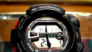 G-shock G-9000 LCD breakage (miner.glass view)