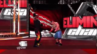WWE Elimination Chamber 2012 Predictions Kane vs Cena ‏ - YouTube.flv