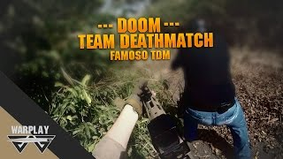 Airsoft #21 - Doom l Team Deathmatch l Usei amoeba e olha no que deu