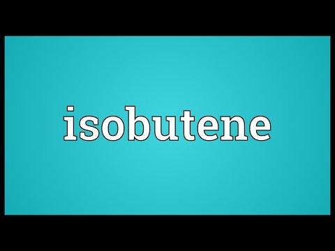 Header of isobutene
