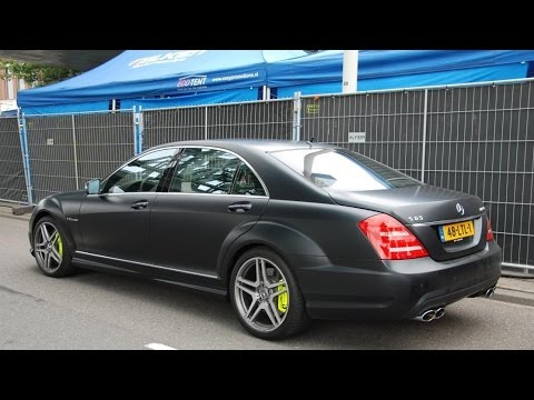 Rare matte black mercedes brabus s550 youtube for Matte black mercedes benz