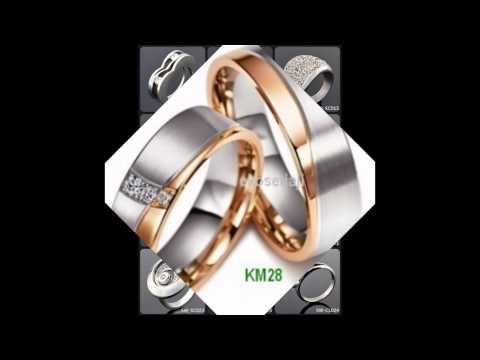 Gambar Model Cincin Kawin Emas Putih Terbaru