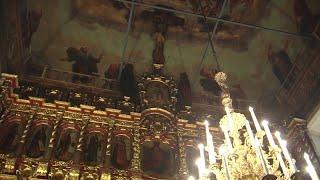 Божественная литургия 11 января 2021 г., Храм Петра и Павла в Лефортове, г. Москва