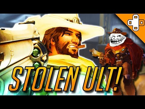 STOLEN ULT! - Overwatch Funny & Epic Moments 346