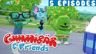 Gummy Bear Show Season 2 - EPISODES 5-10 - Gummibär And Friends