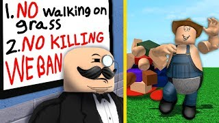Breaking Roblox's STRICTEST group's rules...