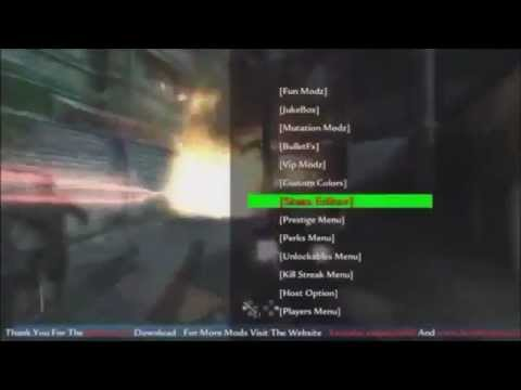 World at war zombies mod menu download usb