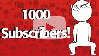 WE MADE IT TO 1000 SUBSCRIBERS! | Thank you