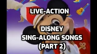 Looking Back on the Live-Action Disney Sing-Along Songs (Part 2)