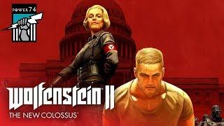#1 Прохождение Wolfenstein II: The New Colossus. Первый запуск, знакомство с игрой.