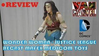 REVIEW ACTION FIGURE - RECAST WONDER WOMAN MAFEX