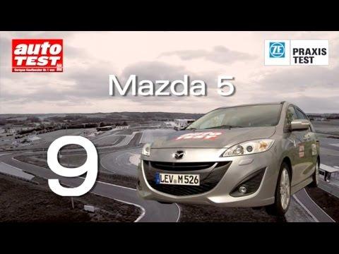 Der ZF Praxistest 2014 - Platz 9 Mazda 5