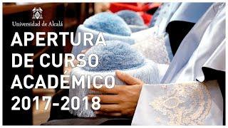 Resumen Acto de Apertura del Curso Académico 2017/2018 (4k)