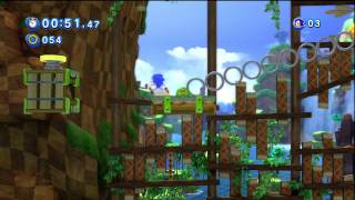 Sonic Generations: Classic Green Hill: No Rolling (HD)