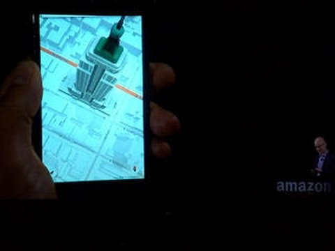 Amazon reveals 3D-like tech with new Fire Phone