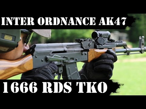 Inter Ordnance AK47, 1666 RDS Later - Technical Knockout!