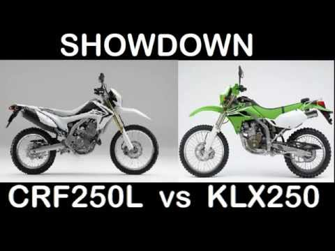 CRF250 vs KLX250 SHOWDOWN - Doi Suthep 2012