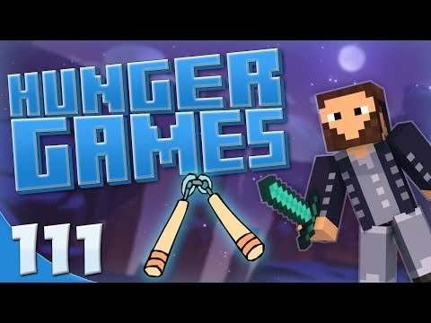 Minecraft: Hunger Games! - Game #111 - Fishing Rod Nunchucks! w/Blitzwinger