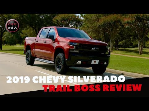 2019 Chevrolet Silverado LT Trail Boss First Drive Review