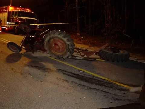 Farmall 140 Accident