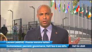 VIDEO: Interview Laurent Lamothe sur TV5 a New York sur l'Environnement