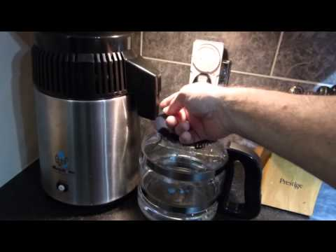 Water Distiller Vs Tap Water (The removal of crud)