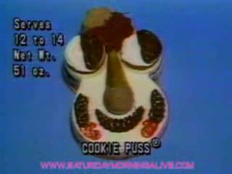 Carvel Cookie Puss Doll Tv Commercial 1985 Youtube