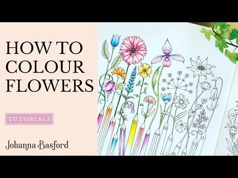 Tutorial : How to Colour Flowers