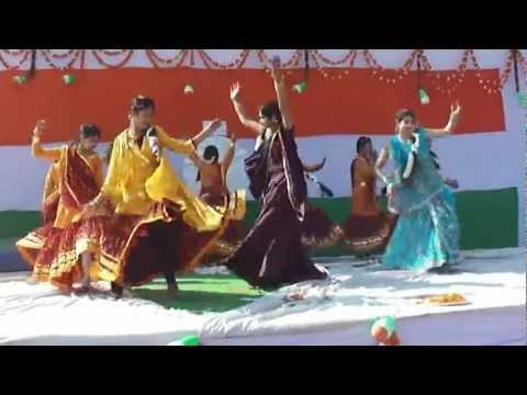 Arcadian Public School Bajna 26 Jan 2013 Desh Mera Rangila